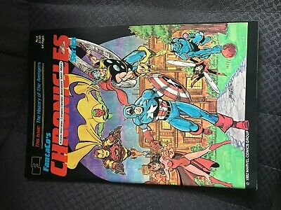 Fantaco's Chronicles #4 The History Of The Avengers Special George Perez Cover