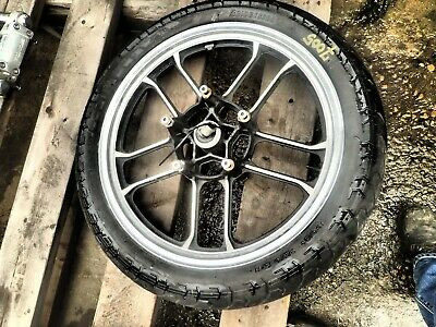 1984 HONDA SHADOW 750 VT750C MOTORCYCLE Front Tire w/wheel (OPS7005)