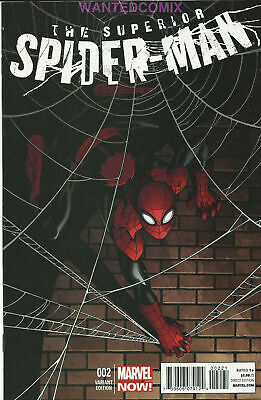 Superior Spider-Man #2 Mcguinness Variant Cover 1:50 Marvel Comic Book New 1 Nm
