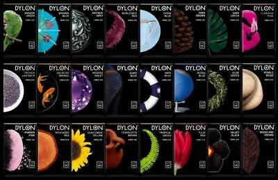 50G Hand Dye By Dylon, 24 Colours Available.