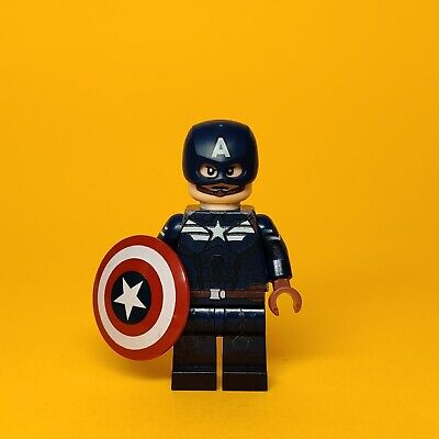 Lego Custom Captain America Avengers Endgame Winter Soldier Minifigure UV Print
