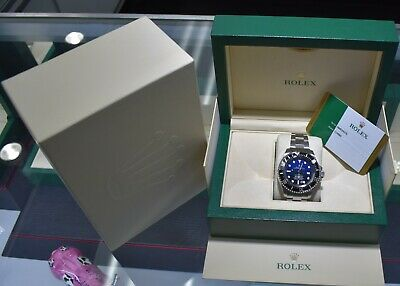 4ad342c9fa6 ROLEX SEA-DWELLER DEEPSEA PVD/DLC Coated Stainless Steel 44mm Watch ...