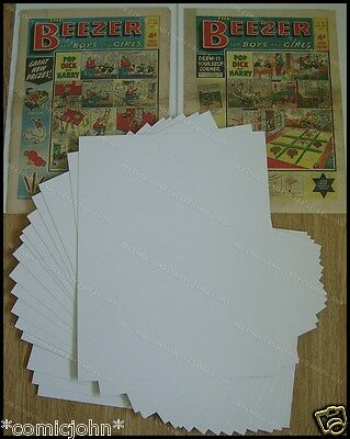 "SIZE P.  BACKING BOARDS : 17 1/2"" X 14"". NEWSPAPER SIZE x 100"