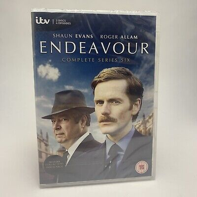 Endeavour Series Season 6 Six Complete DVD - PAL Region 2 - New & Sealed