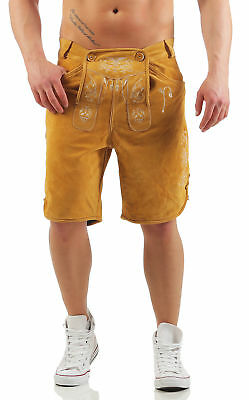 Men's Traditional Garb Leather Shorts Yellow Eagle Engelleiter Smartphone Case