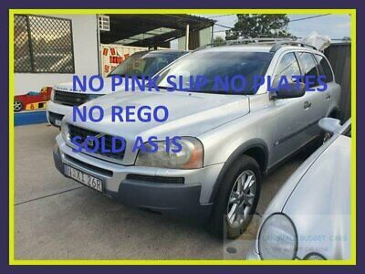 2005 Volvo XC90 P28 T6 Silver Automatic 4sp A Wagon