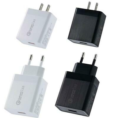 Quick Charge 3.0 USB 5V 3A Mobile Phone Wall Home Travel AC Fast Charger Adapter