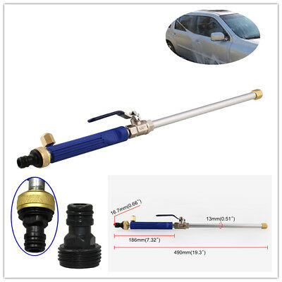 High Pressure Power Washer Spray Nozzle New! Water Hose Wand Attachment US