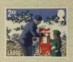 100 X 2nd Class Large Letter Stamps 65p each z--