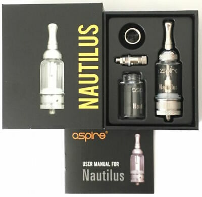 5ML ASPIRE NAUTILUS Tank Kit with Adjustable Air Hole & BVC Coils UK Hot