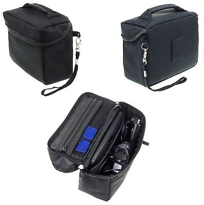 Travel Bag Case For Binatone U605 Sat Nav With Accessory Storage
