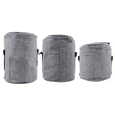 Insulated Lunch Bag Box Tote Bag with Strap Hot Cold Food Thermal Cooler WO