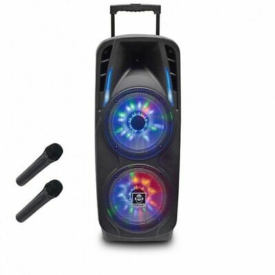 iDance Groove870 Bluetooth Party System mit Front LED Lightshow Teleskopauszug