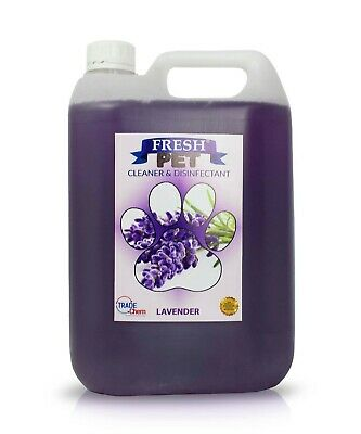 Fresh Pet Disinfectant Cleaner Deodoriser - Animal Safe 5L - Lavender