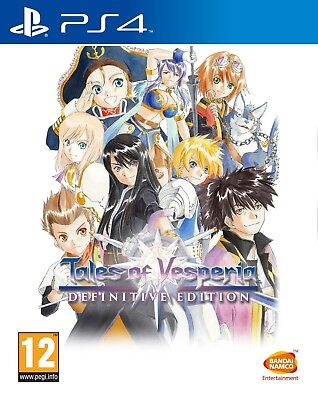 Tales of Vesperia: Definitive Edition (PS4)  NEW AND SEALED - QUICK DISPATCH