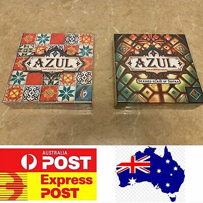 Azul board game or Azul Stained Glass of Sintra version, AU stock