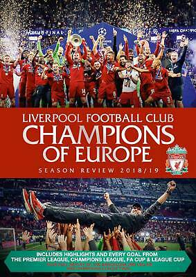 Liverpool FC: End of Season Review 2018/2019 - Liverpool FC [DVD]
