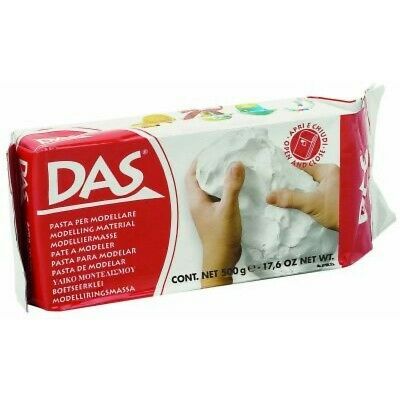 Das- Air Drying Modelling Clay White 1kg