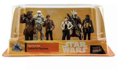 Disney Parks Solo A Star Wars Story Exclusive 6-Piece Deluxe PVC Figure Playset.