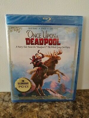 Once Upon A Deadpool (Blu-Ray + DVD + Digital) FACTORY SEALED
