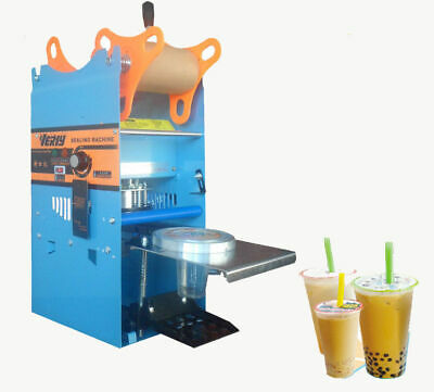 WY-802F Manual Tall-cup Sealing machine for Bubble Tea - 220v