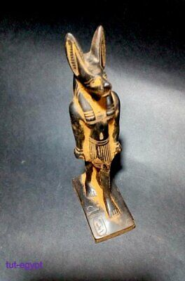 ANCIENT EGYPTIAN ANTIQUE ANUBIS   Statue Stone 1660-1480 BC