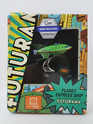 Futurama Planet Express Ship Loot Crate Exclusive by QMX New in (worn) box