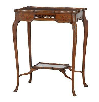 Early 20Th Century Sheraton Revival Satinwood Side Table