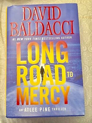 DAVID BALDACCI LONG ROAD TO MERCY 1sT eDITION 2018 Atlee Pine Thriller Hardcover