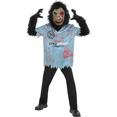 Zombie Chimp Halloween Costume for Boys, Medium, with Accessories