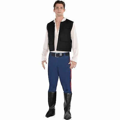 Star Wars Han Solo Costume for Adults, Standard Size, Includes Jumpsuit and Vest