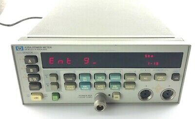 Hp Agilent Keysight  438A dual channel power meter