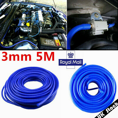 Boost RAMAIR Silicone 3mm x 5m Vacuum Hose Water Pipe Line Blue