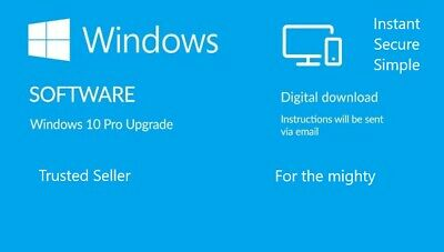 Windows 10 pro product key instant mail delivery for professionals Lifetime 1PC