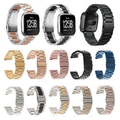 For Fitbit Versa Watch Luxury Replace Stainless Steel Strap Wrist Band Bracelet