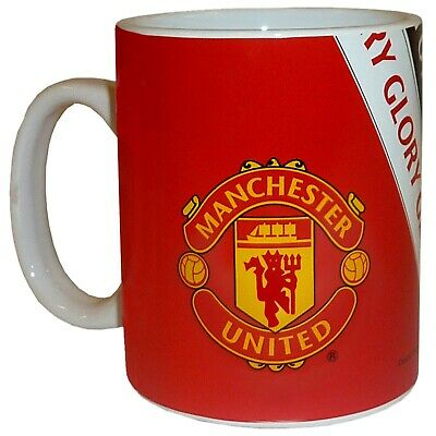 Manchester United FC Official Football Gift Boxed Glory Glory Mug