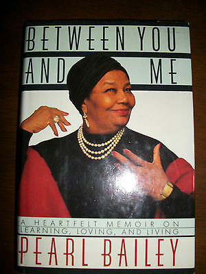 Pearl Bailey SIGNED & INSCRIBED STD 1ST Ed African American HB/DJ Book Singer