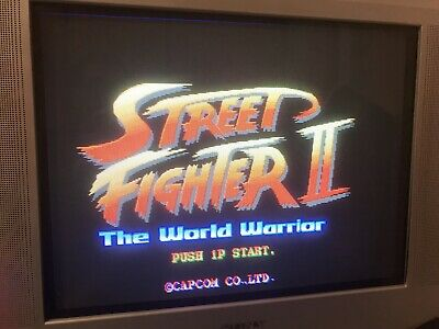 Street Fighters 2 The World Warrior Jamma Pcb  . Working 100%