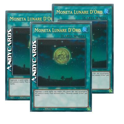 MONETA LUNARE D'ORO (Gold Moon Coin) • Ultra R • BLHR IT003 • Yugioh! ANDYCARDS