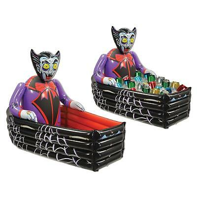 Halloween Horro Party Inflatable Vampire Coffin Buffet Drinks Cooler Decoration