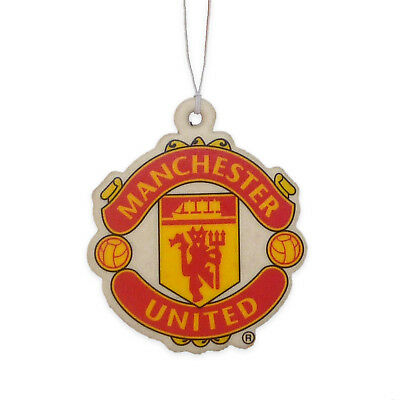 Manchester United FC Official Football Gift Crest Air Freshener