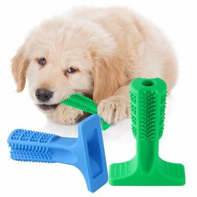 Pet Dog Chew Toys Resistant Silicone Pet Dog Toothbrush Cleaning Teeth Brushing