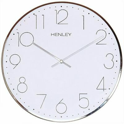 HENLEY Bedroom Living room Office Large Contemporary Dome Wall Clock HCW002