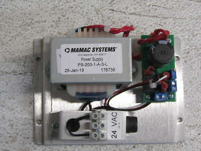 Mamac System 24Vac/24Vdc 1.5Amp Power Supply PS-200-1-A-3-L