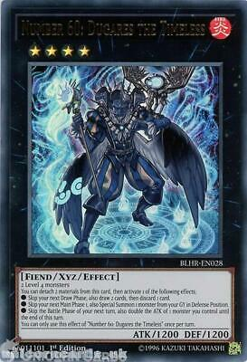 BLHR-EN028 Number 60: Dugares the Timeless Ultra Rare 1st Edition Mint YuGiOh Ca