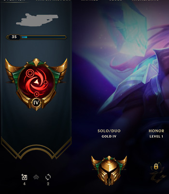 NA LEAGUE OF Legends Unverified & Unranked 40,000 BE Smurf