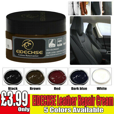 Leather Repair Cream Filler Compound For Leather Restoration Cracks Burns A62