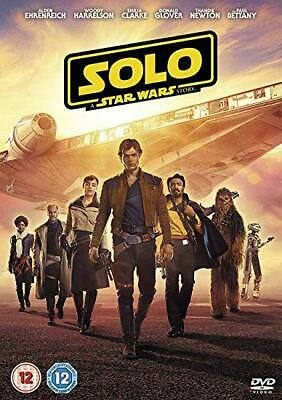 Solo A Star Wars Story - Brand New Region 2 DVD* Uk Freepost