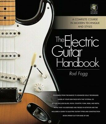 Electric Guitar Handbook, Hardcover by Fogg, Rod, Brand New, Free shipping in...