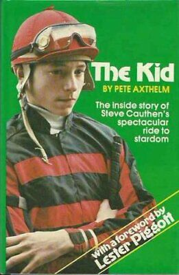 The Kid Book Steve Cauthen Horse Race Jockey Racing Kentucky Lester Piggott Old